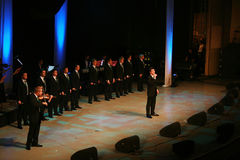 12 irländska tenorer Arkivbilder