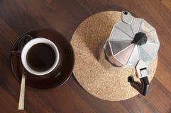 12 kaffekopp Arkivfoton