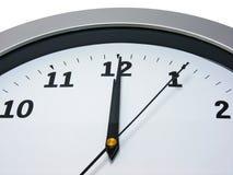 12 klocka o Royaltyfri Fotografi