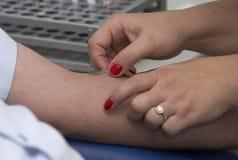 12 krwi lab test Zdjęcia Stock