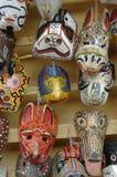 12 maskeringar Royaltyfria Bilder
