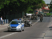 12. Militärsitzung in DarÅowo Stockfotos