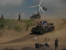 12. Militärsitzung in DarÅowo Lizenzfreies Stockbild