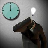 12 o'clock. Clock at 12 o'clock idea vector illustration