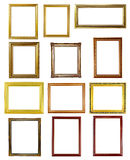 12 picture frame Royalty Free Stock Photos