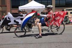 12 rocznika festiwalu Czerwiec parada Portland wzrastał fotografia royalty free