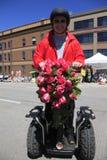 12 roczników festiwalu Czerwiec parada Portland wzrastał Zdjęcia Royalty Free