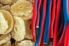 12 sötsaker Arkivfoto