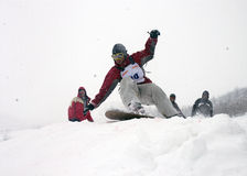 12 snowboard Fotografia Royalty Free