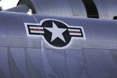 A-12 USA Abzeichen Lizenzfreie Stockfotos