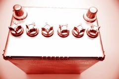 12 voltbatterij Royalty-vrije Stock Fotografie