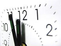 12 zegar Obraz Stock