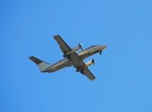 120架飞机emb embraer涡轮螺旋桨发动机 库存照片