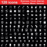 120 graphismes réglés Photo libre de droits