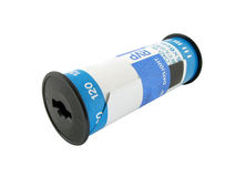 120 Roll Film 2. A roll of 120 medium format slide film Royalty Free Stock Photography