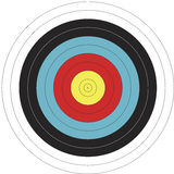122cm FITA design Archery Target. This is an 122 cm FITA design Archery Target at actual size. The File is 122 x 122 cm. This is not the official Target but is Stock Photo
