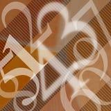 123 абстрактных номера предпосылки Стоковое Изображение