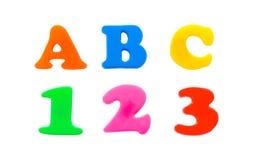 123 abc 库存照片
