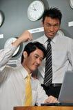 123 biznesów zegarowy biuro Zdjęcie Stock