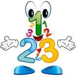 123 liczby Zdjęcie Stock