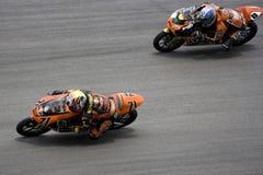 125cc活动motogp赛跑 库存照片