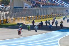 125cc начинают гонку cev неровную Стоковые Изображения RF