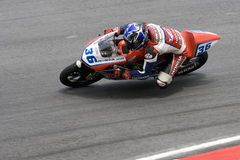 125cc carrillo西里尔motogp 图库摄影