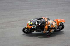 125cc enrique ・赫雷斯motogp 库存照片