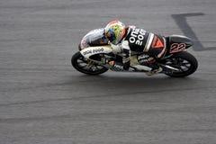 125cc motogp nieto帕布鲁棕色 图库摄影