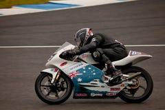 125cc motorcycling πειραματικό zamora της Ιορ&de Στοκ Εικόνες