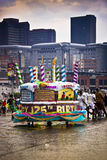 125th улица парада joburg масленицы дня рождения Стоковое фото RF