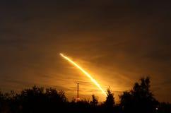 126努力航天飞机空间sts 免版税图库摄影