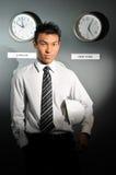 126 biznesów zegarowy biuro Zdjęcia Stock