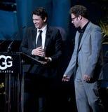 127 horas de estrella, James Franco en el teatro de Arlington Foto de archivo libre de regalías