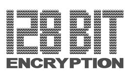 128 bit encryption Stock Image