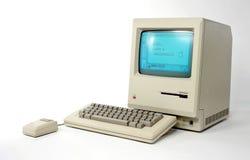 128k äpple macintosh Royaltyfri Foto