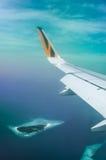 男性,马尔代夫1月29日:泰格航空公司,一最成功 免版税库存照片