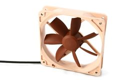12cm cooling fan Royalty Free Stock Photos