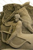 12th International Festival of Sand Sculptures Stock Photography