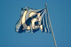 12th man flag Royalty Free Stock Photos