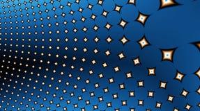 12uv2 pola fractal gwiazdy ilustracja wektor