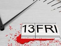 13ème vendredi Image stock