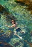 13个人游泳年轻人 图库摄影
