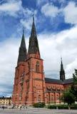 13个大教堂世纪乌普萨拉 免版税库存图片