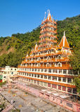 13个楼层寺庙Haridwar 免版税图库摄影