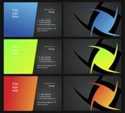 13个看板卡支持二vising 图库摄影