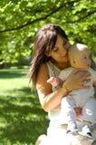 13小母亲 库存图片