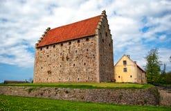 13座城堡glimmingehus 免版税库存照片