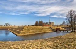 13座城堡kronborg 库存照片