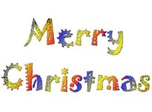 13快活的圣诞节 免版税库存照片